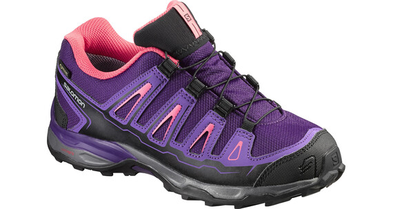 Salomon X-Ultra GTX Shoes Juniors cosmic purple/rain purple/madder pink
